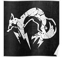 Foxhound V2 (White) Poster