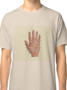 Hand with acupressure points Classic T-Shirt