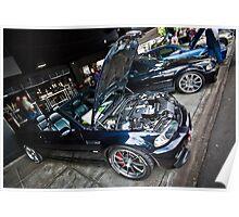 BMW Cabrio Poster