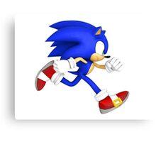 Sonic the hedgehog! Canvas Print