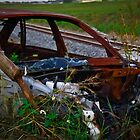 Old Car Wreck by AlexKokas