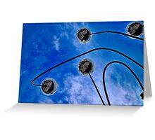 Sky Mirrors Greeting Card