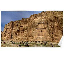 Naqsh-E Rostam - Necropolis - Iran Poster