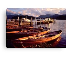Keswick, Derwentwater - The Lake District Canvas Print