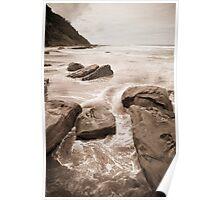 south coast rocks Poster
