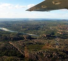 Up in the air over Kakadu by georgieboy98