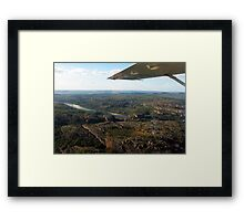 Up in the air over Kakadu Framed Print