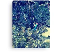 Tunneling Canvas Print