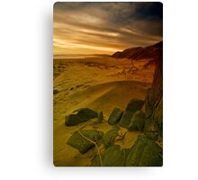 Day Ends. Canvas Print