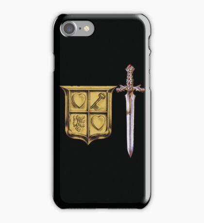 Zelda Sword & Shield iPhone Case/Skin