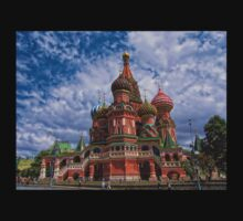 Cathedral of Basil the Blessed, Moscow, Russia T-Shirt