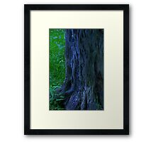 elf trees Framed Print