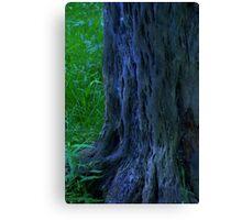 elf trees Canvas Print
