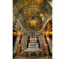 Gold & Holy Photographic Print
