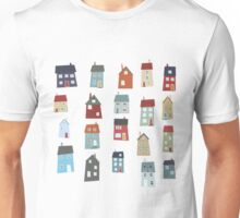 Little Houses Unisex T-Shirt