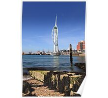 Spinaker Tower, Portsmouth Poster