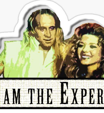 I am the Expert Sticker