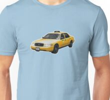 Taxi Cab Groove Unisex T-Shirt
