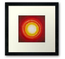 """Sun Spot"" Framed Print"