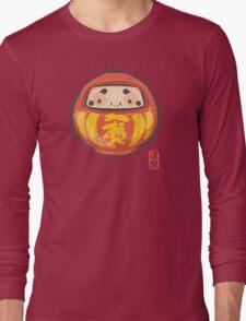 Daruma [Special Lucky Toy Box] Long Sleeve T-Shirt