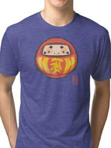 Daruma [Special Lucky Toy Box] Tri-blend T-Shirt