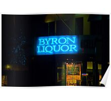 The Byron Liquor Store Poster