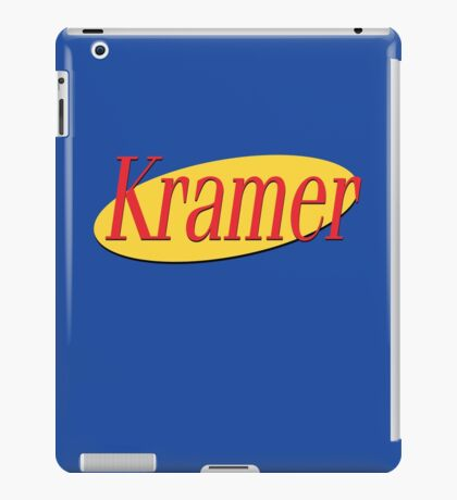 Kramer - Seinfeld iPad Case/Skin