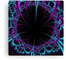 RIBBON EXPLOSION Canvas Print
