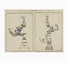 The flowers of Japan and the art of floral arrangement Josiah Conder 1892 0257 Peony Iris Kids Tee