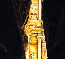 Homage to Petra by Richard Young