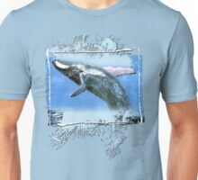 magnificent whale Unisex T-Shirt
