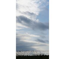 The morning clouds in Wakarusa Photographic Print