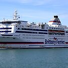 Brittany Ferry in Portsmouth by derekwallace