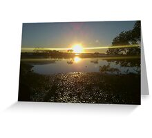 Double suns Greeting Card