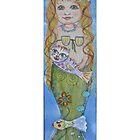 The Mermaid & Catfish by m catherine doherty