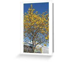 Epcot Tree Greeting Card