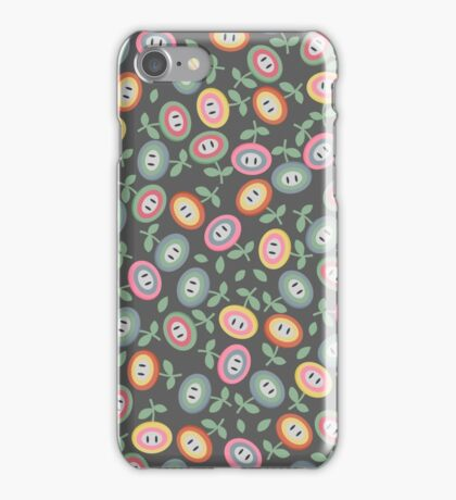 Mushroom Kingdom Flowers iPhone Case/Skin
