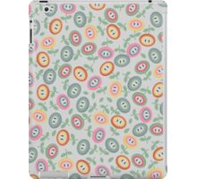 Mushroom Kingdom Flowers iPad Case/Skin