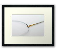 Eye of a Needle Framed Print