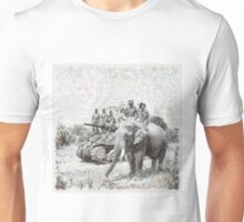 War and Shackles by John Springfield Unisex T-Shirt
