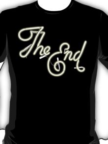 THE END - MOVIE CREDITS T-Shirt