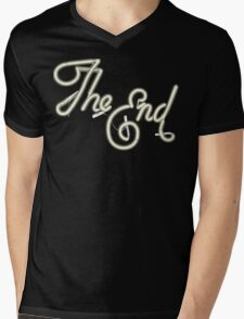 THE END - MOVIE CREDITS Mens V-Neck T-Shirt