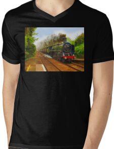 The Return Trip (Locomotive) Mens V-Neck T-Shirt