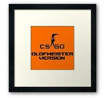 CS:GO Olofmeister Version Framed Print