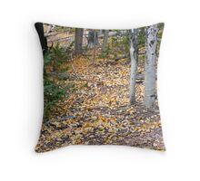 Mueller Park aspen gold Throw Pillow