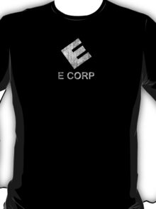 Mr. Robot - E Corp - White Dirty T-Shirt