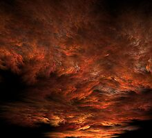 Fractal Sunset by Lyle Hatch