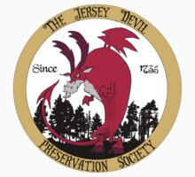 Jersey Devil Preservation Society by monsterfink