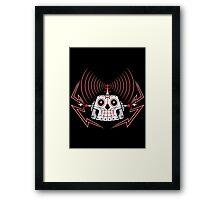 Skullbot Framed Print
