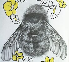 Bumble bee by illishtrations